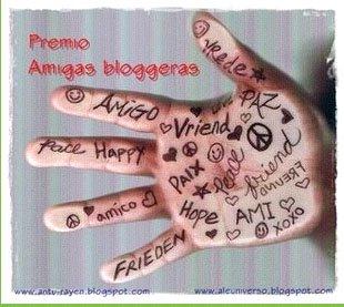 Premio - Amigas bloggeras