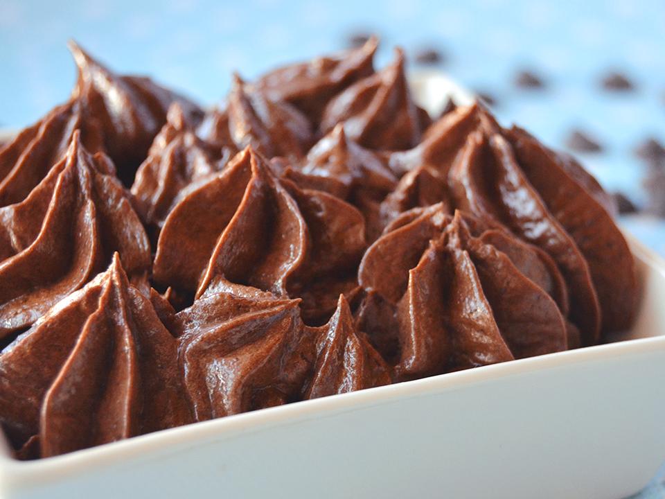 Buttercream de chocolate